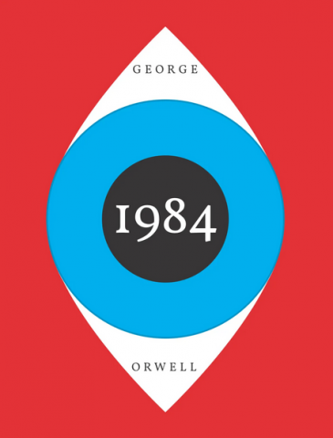 1984 book cover image