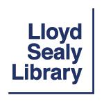 Lloyd Sealy Library