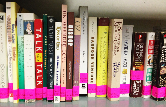 Lloyd Sealy Library browsing collection
