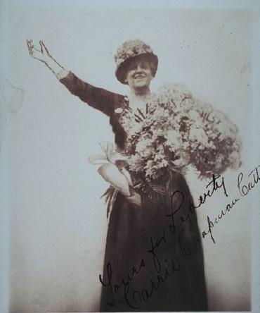 Carrie Chapman Catt photograph