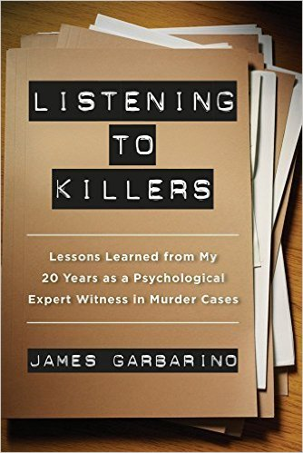 Listening to killers: book cover