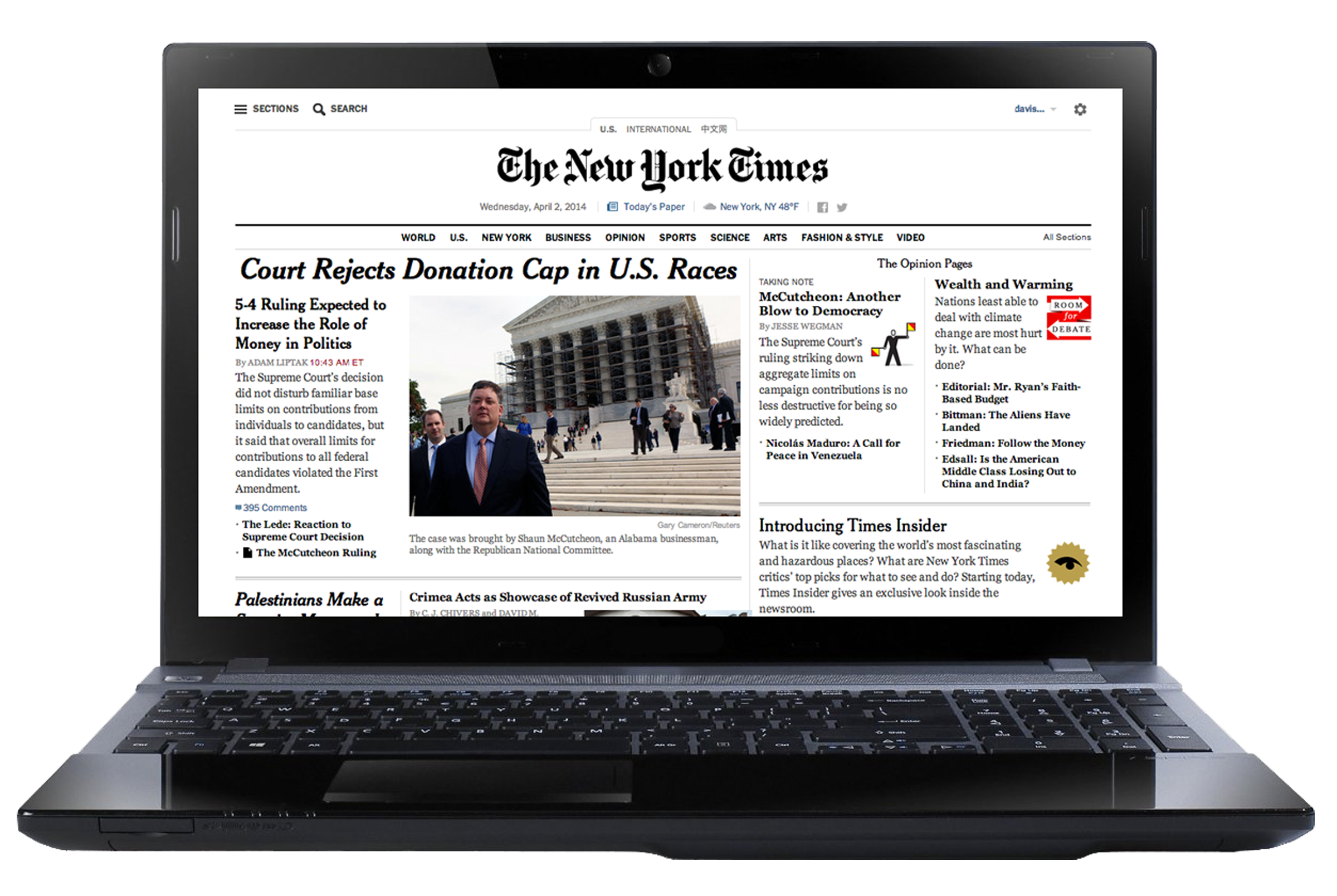 Francois Illas New Tradition: The New York Times — Complimentary Access!