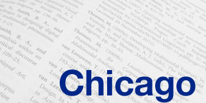 Chicago style citation