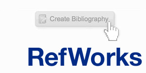 Refworks, Create bibliography