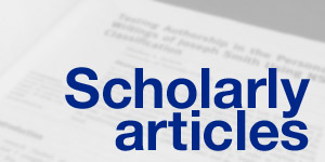 Articles published in academic journals