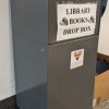 Photo of Library book drop box
