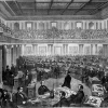 Senate as a Court of Impeachment for the Trial of President Andrew Johnson (Source: Theodore R. Davis/Wikimedia Commons)