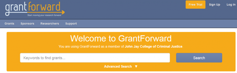 grant forward screen shot