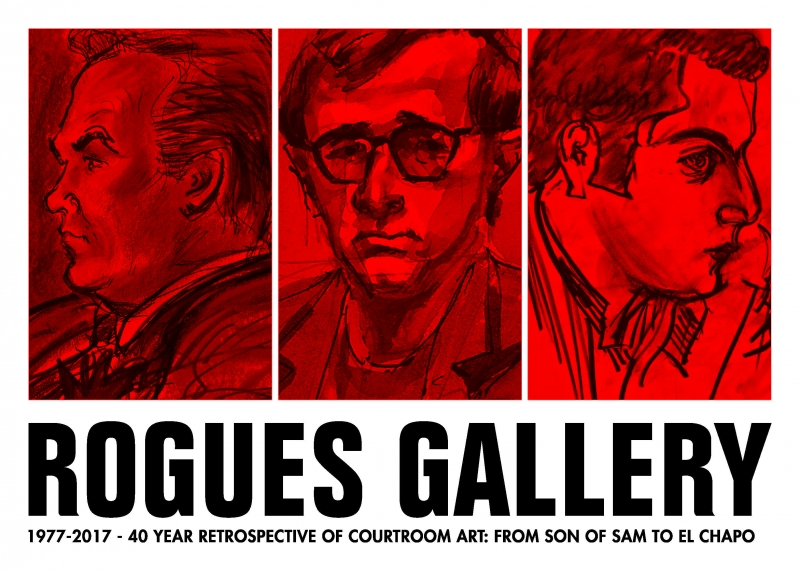 Rogues Gallery postcard image