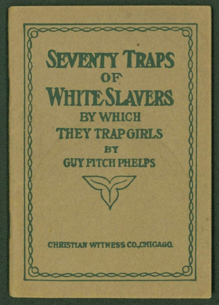 Book cover: Seventy Traps of White Slavers