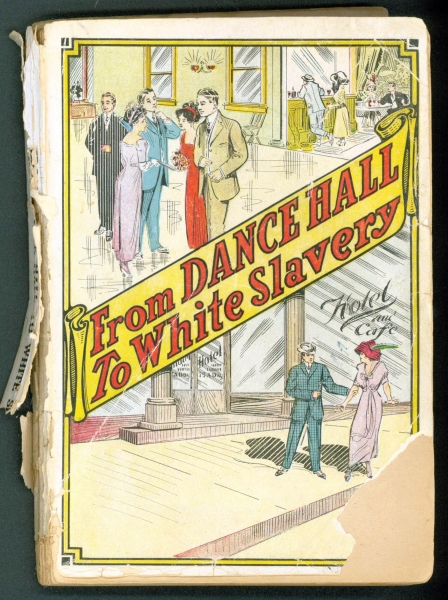 Book cover: From Dance Hall to White Slavery