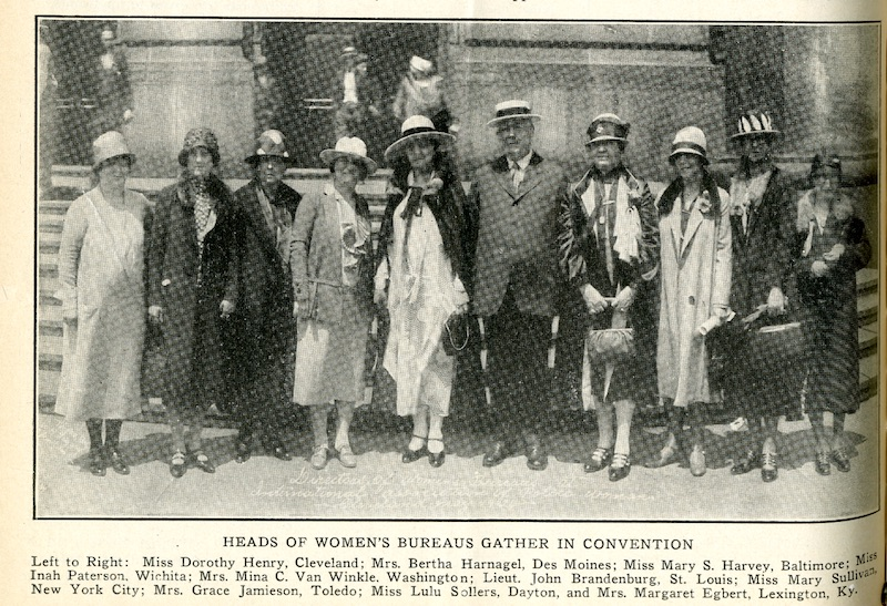 Women posing for photo